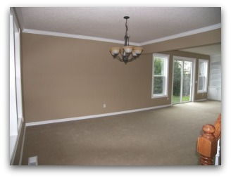 Before Home Staging in Newberg Oregon