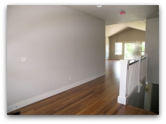 Entry before Home Staging