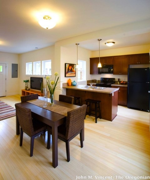 Svaboda Court - Kitchen staged by Synergy Staging